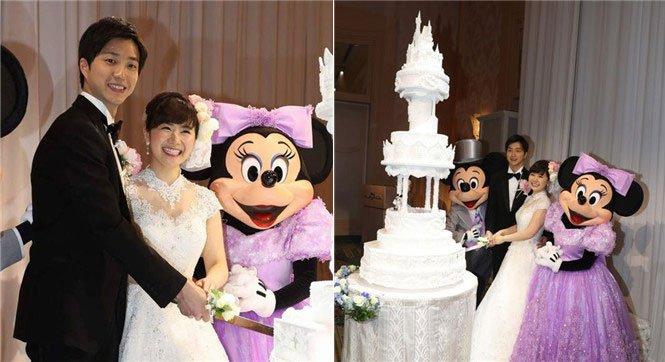 福原愛 結婚式 ディズニー에 대한 이미지 검색결과