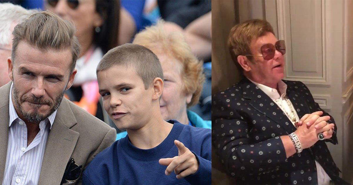 g.jpg?resize=636,358 - Romeo Beckham Turned 16 And Celebrated His Birthday With Family And 'Godfather' Elton John