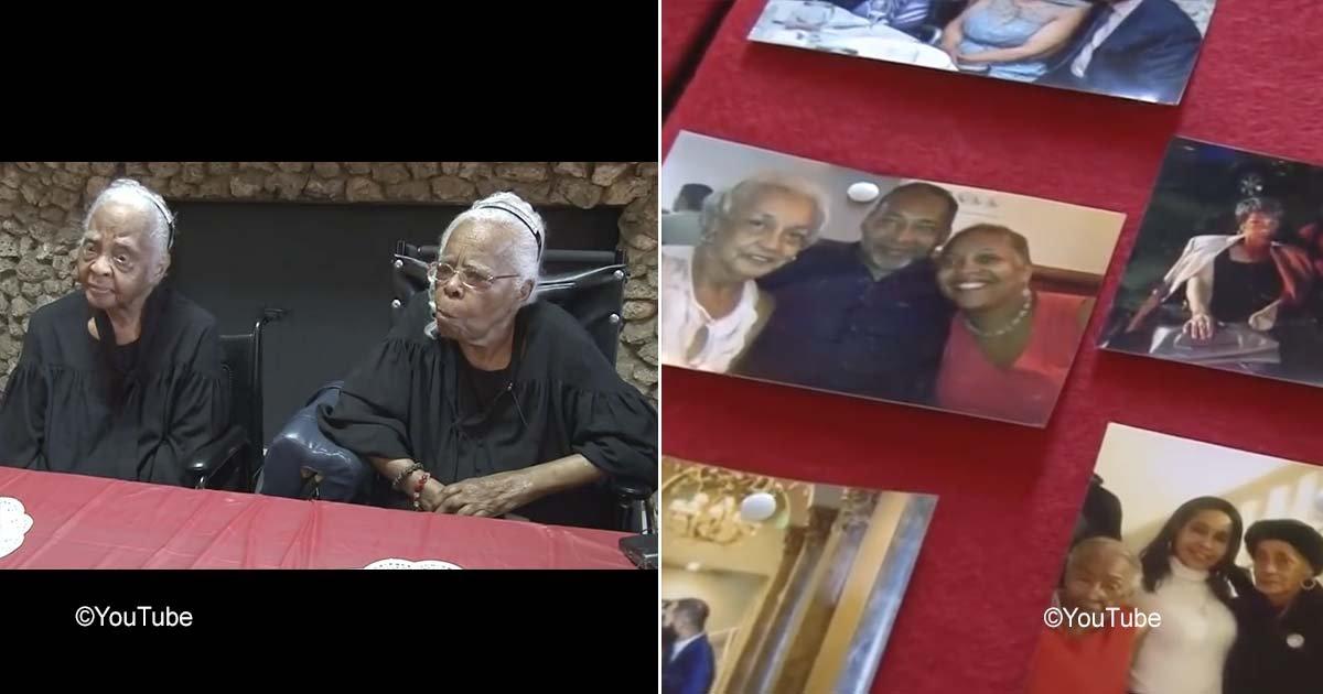 gemelas 1.jpg?resize=300,169 - Estas gemelas festejaron sus 102 años de vida y aseguran que fue gracias a su conexión tan especial