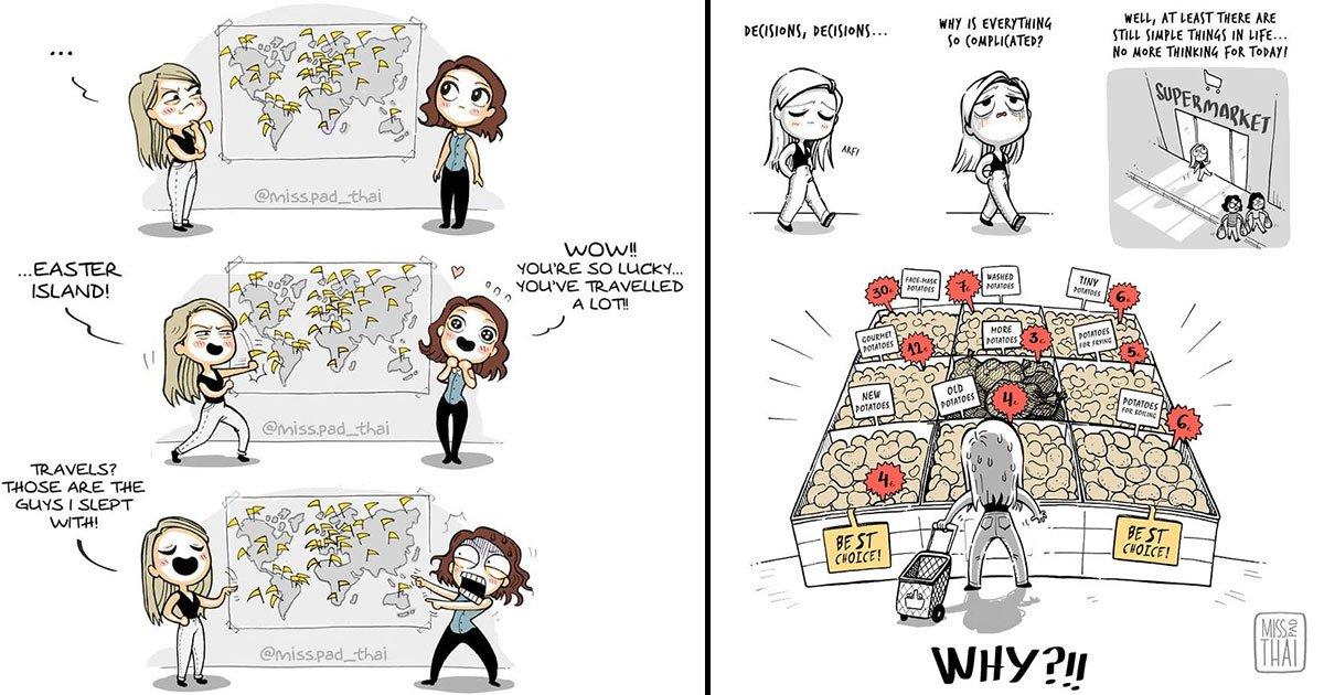 gffffffffffffff.jpg?resize=1200,630 - This Artist Tells Her Story With Her Boyfriend In Funny Comics