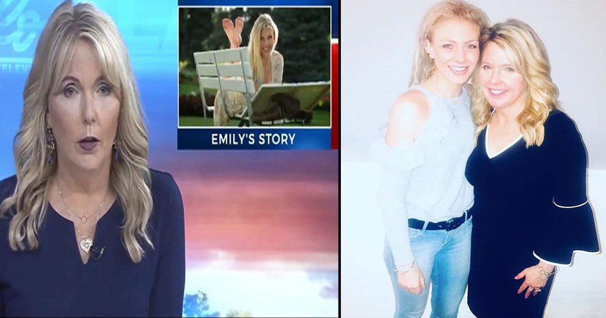 gggg 1.jpg?resize=1200,630 - Cette présentatrice télé aborde à l'antenne la mort de sa fille pour plaider en faveur de la fin de la crise des opioïdes.