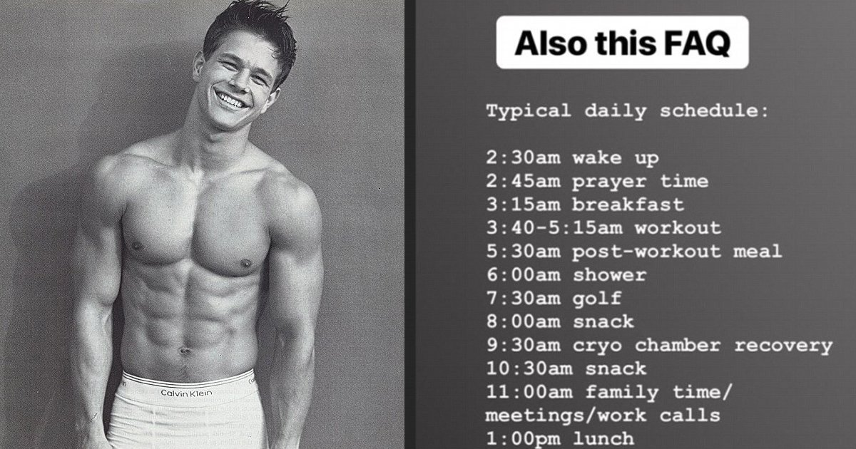 ggss.jpg?resize=636,358 - Mark Wahlberg's Insane Daily Schedule Will Blow Your Freaking Mind