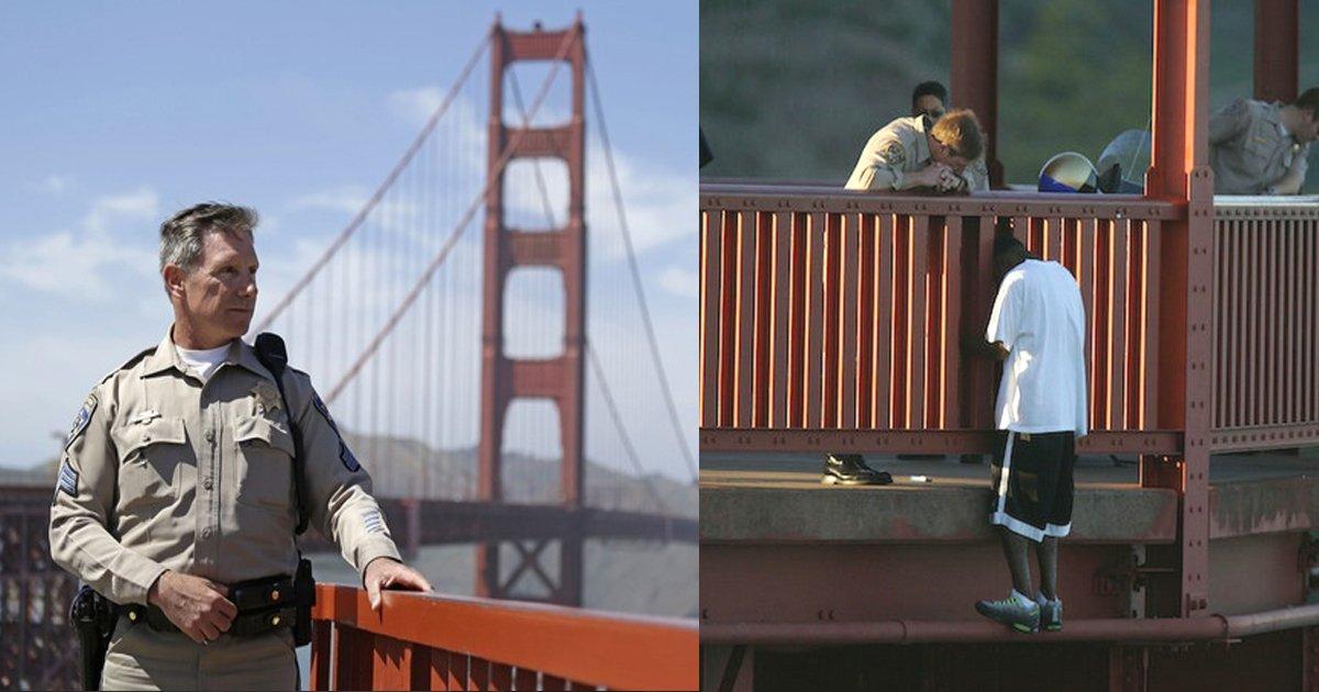 haa.jpg?resize=412,232 - Kevin Briggs, le gardien à la retraite du Golden Gate Bridge a sauvé 200 personnes du suicide