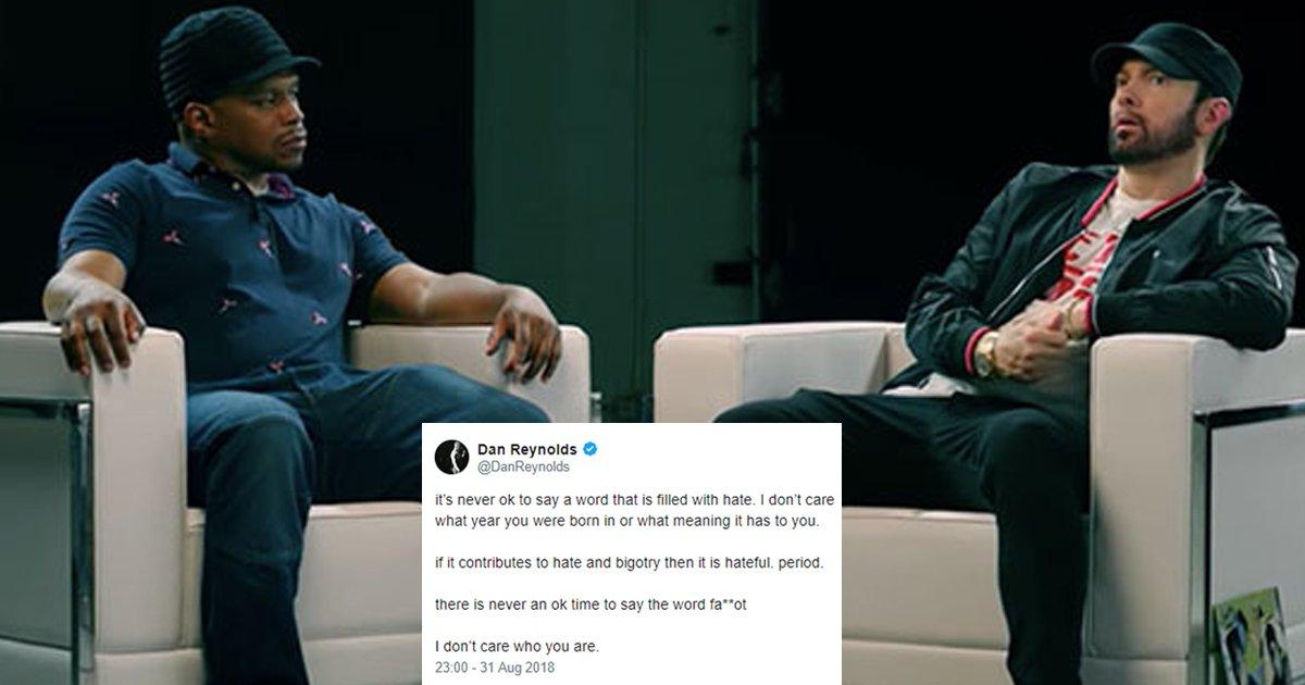 hah.jpg?resize=1200,630 - Eminem Regrets Using Homophobic Slur On 'Kamikaze'