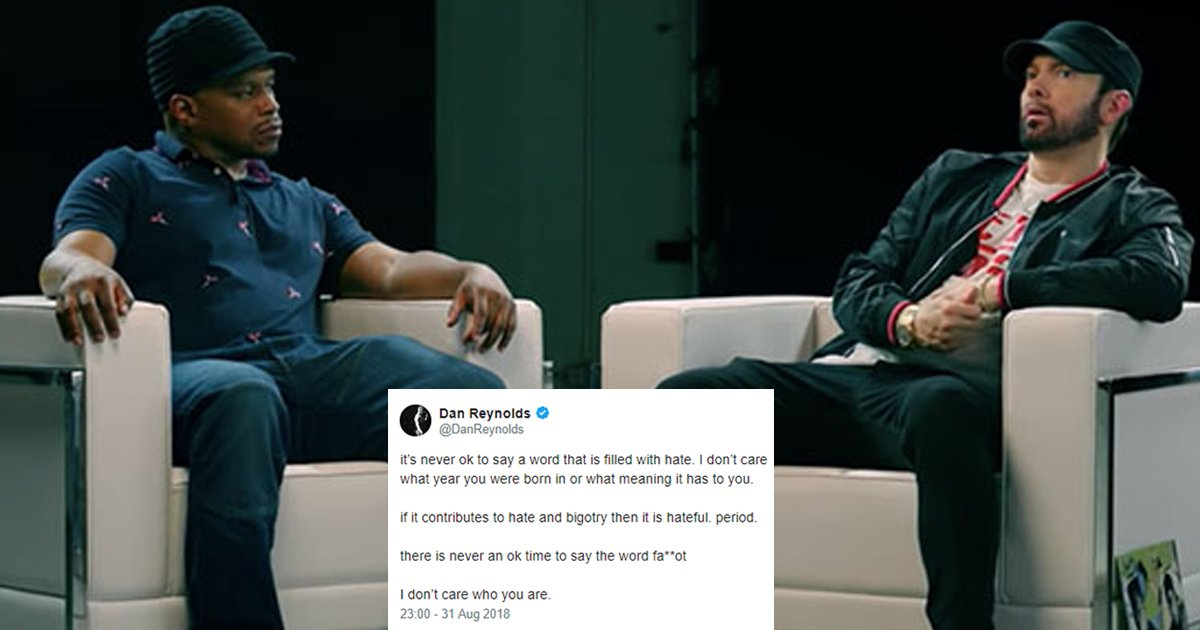 hah.jpg?resize=648,365 - Eminem Regrets Using Homophobic Slur On 'Kamikaze'