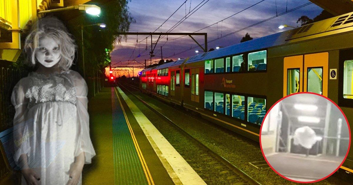 """haha.jpg?resize=412,232 - Cette gare de Sydney """"hantée par le fantôme d'une adolescente ensanglantée"""" a donné des sueurs froides à ses utilisateurs."""