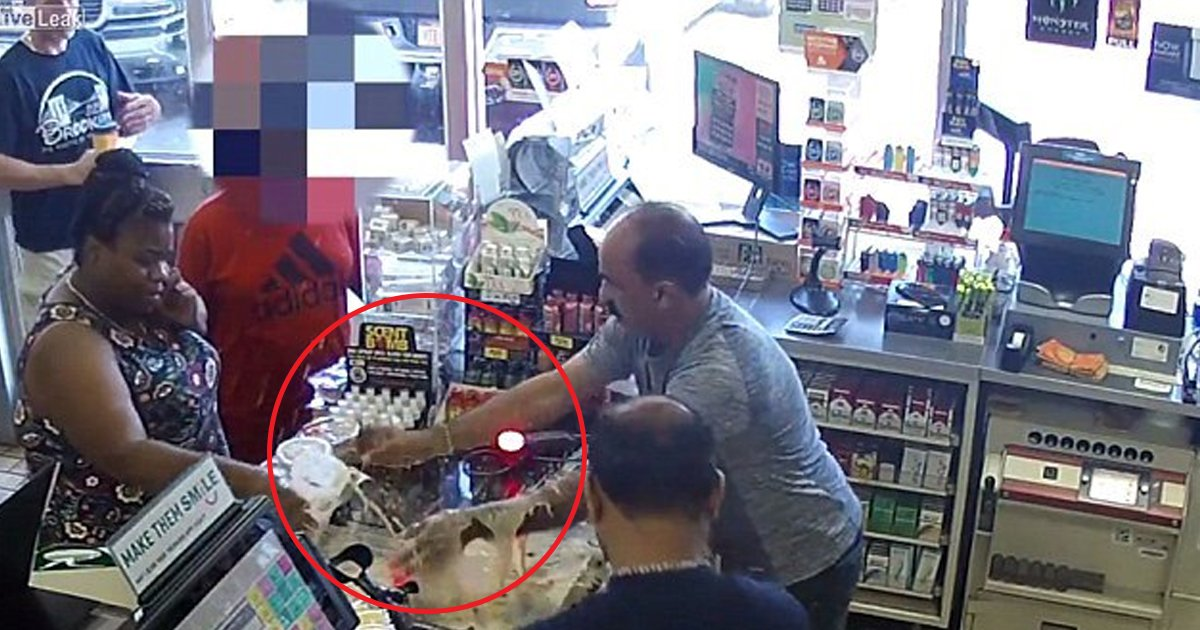 hdd.jpg?resize=636,358 - Angry Woman Spills Coffee Onto The Store Counter And Two Employees As She Was Angry About The Price