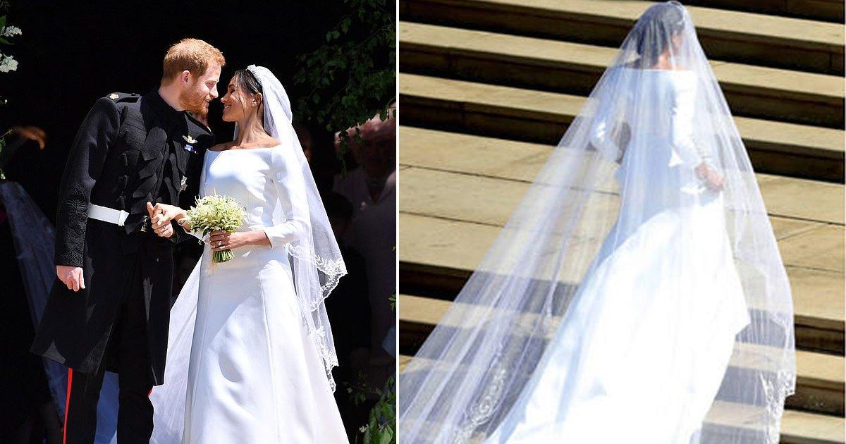 hhd.jpg?resize=636,358 - Os olhos de Meghan brilharam de alegria quando ela se se deparou novamente com seu precioso vestido de noiva