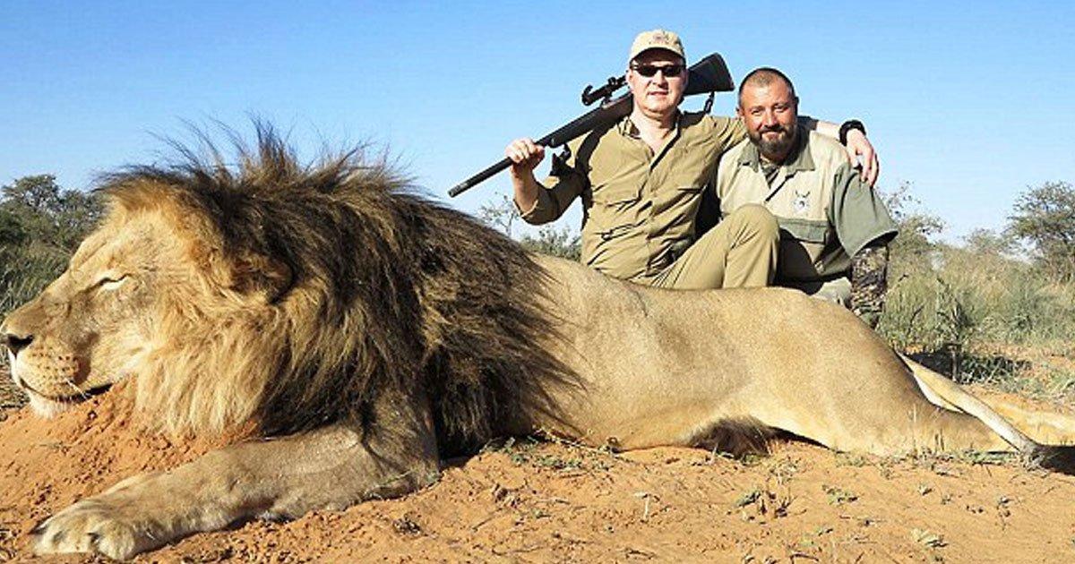 hunting.jpg?resize=1200,630 - Un chirurgien russe dirige une entreprise de chasse en Afrique du Sud et gagne 1 million de dollars par an