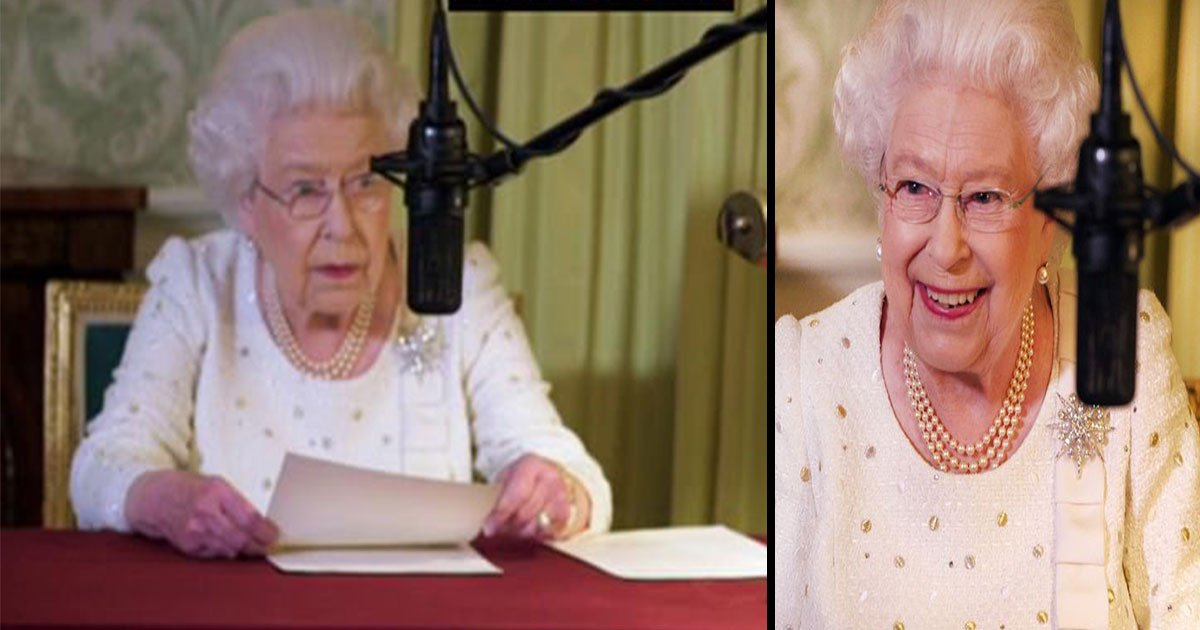hyjghj bvf.jpg?resize=412,232 - The Queen Was Asked To Re-Record Her Christmas Message During ITV Documentary
