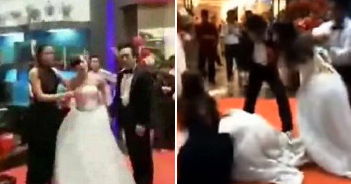 "img 5b9fc34661b9f.png?resize=300,169 - 전 남자친구 결혼식에서 ""임신했다""며 '폭탄발언'한 여성(영상)"