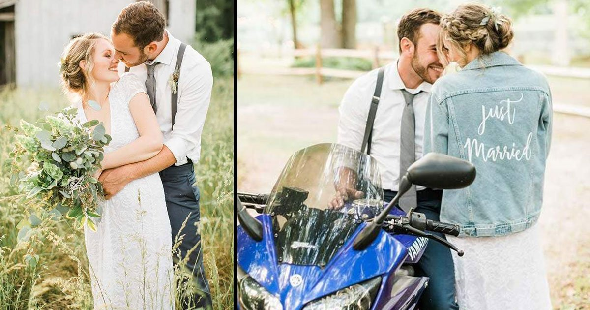 jenny rob spend 2000 wedding.jpg?resize=636,358 - Couple Spends Only $2000 On Their Wedding, And The Pictures Are Too Beautiful To Believe