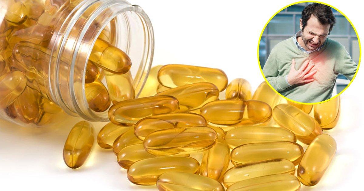 kkkii.jpg?resize=300,169 - Une étude récente affirme que l'huile de poisson peut réduire le risque de crise cardiaque de 25%