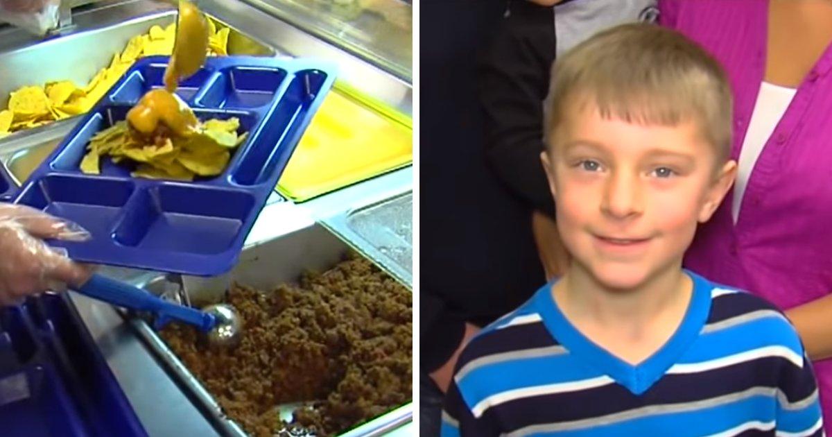 lunch.png?resize=412,232 - Un élève de 8 ans trouve une solution pour payer des repas de cantine pour plus de 300 élèves après avoir vu un ami se voir refuser un repas chaud