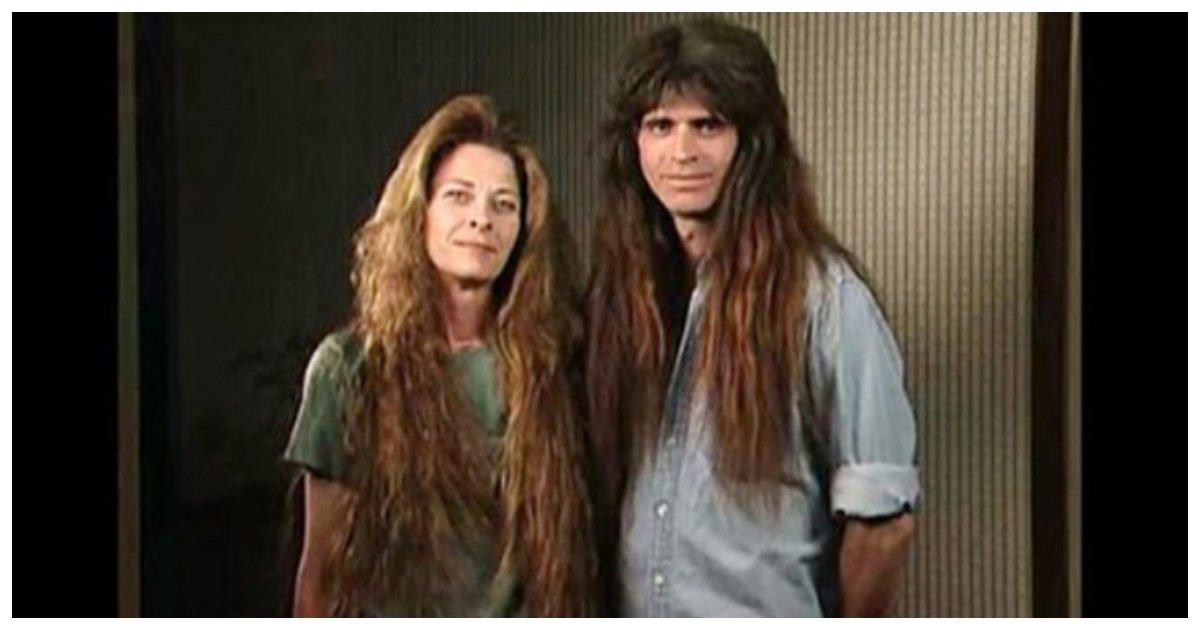 makeover 12.jpg?resize=1200,630 - Un couple qui n'avait pas coupé ses cheveux pendant une décennie se métamorphose