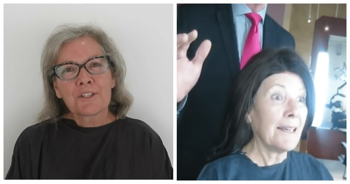 makeover.jpg?resize=412,232 - Woman With Grey Hair Looked Decades Younger After Stunning Makeover