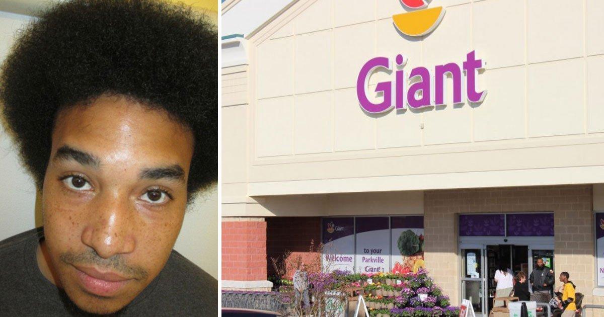 man rub fruits butt.jpg?resize=412,232 - Un homme a été arrêté pour avoir frotté des produits frais sur ses fesses dans une épicerie de Virginie