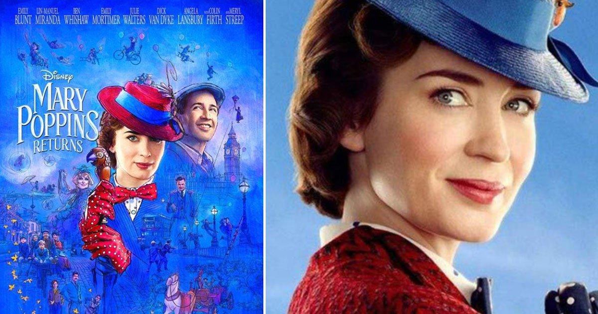 mary poppins returns.jpg?resize=1200,630 - Disney lança segundo trailer de, O Retorno de Mary Poppins