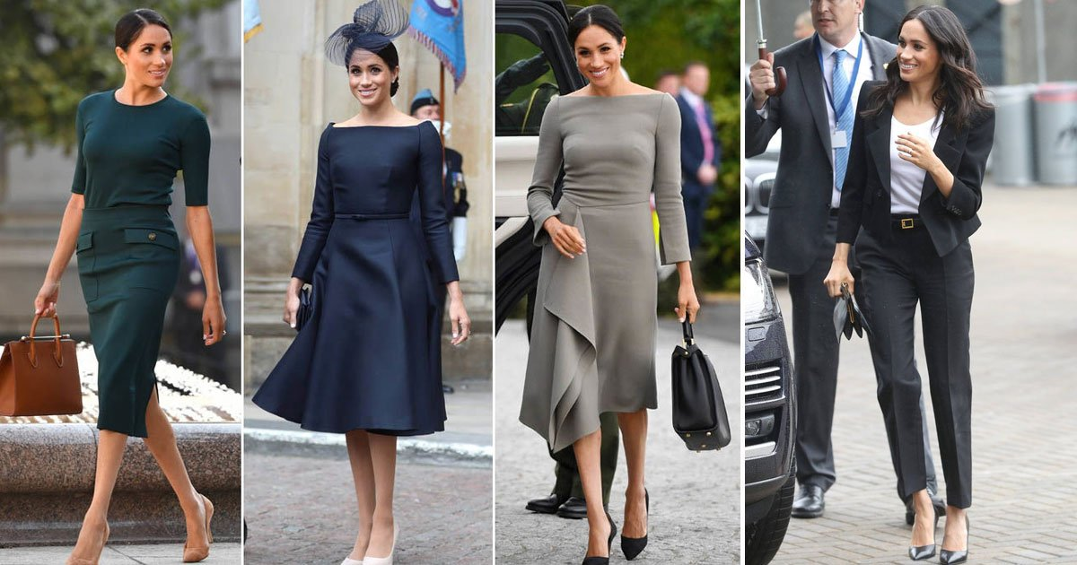 meghan markle.jpg?resize=1200,630 - The Queen's Royal Fashion Rules That Meghan Markle Refusing To Follow