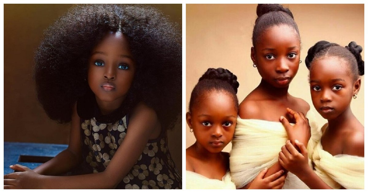 model.jpg?resize=1200,630 - Instagram Users Dubbed This Nigerian Girl The Most Beautiful Five-Year-Old In The World