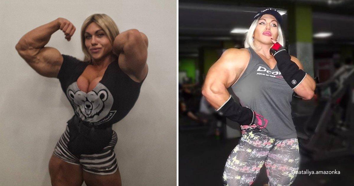 muscl.jpg?resize=636,358 - Ela começou a treinar musculação a partir dos 14 anos e agora tem um dos corpos mais fortes do mundo!