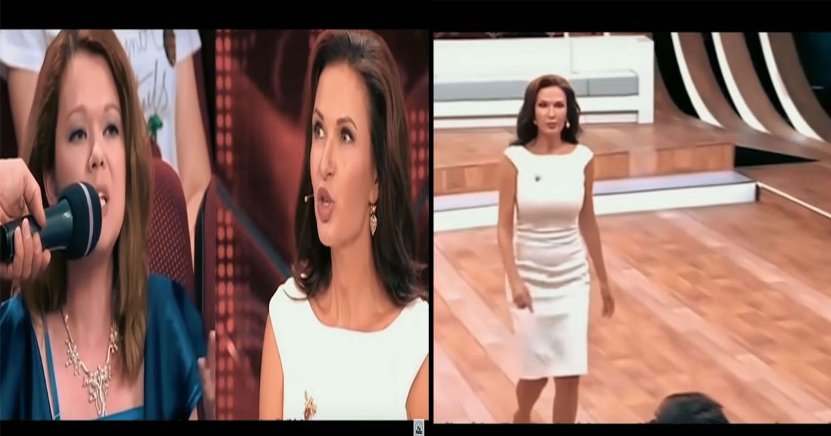 my news tv.jpg?resize=412,232 - British Actress Slaps A Tv Audience Member On A Live Show, Who Calls Her Son A Sick Child