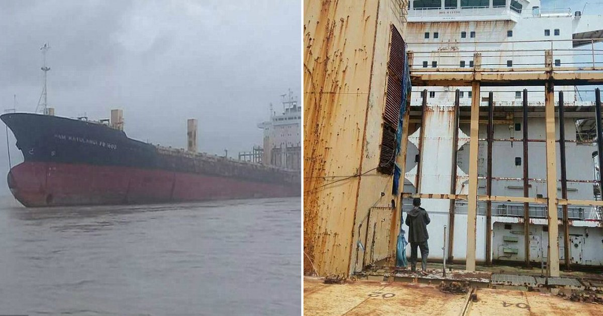 mystery solved.jpg?resize=1200,630 - Police Confirm What Happened To The Crew Of 'Ghost Ship' That Recently Reappeared In Myanmar