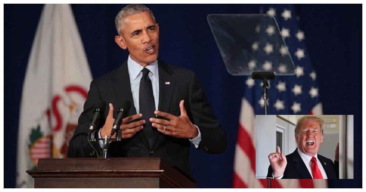obama 1.jpg?resize=1200,630 - L'ancien président Obama finit par rompre le silence et dénonce Trump dans un discours houleux en Illinois