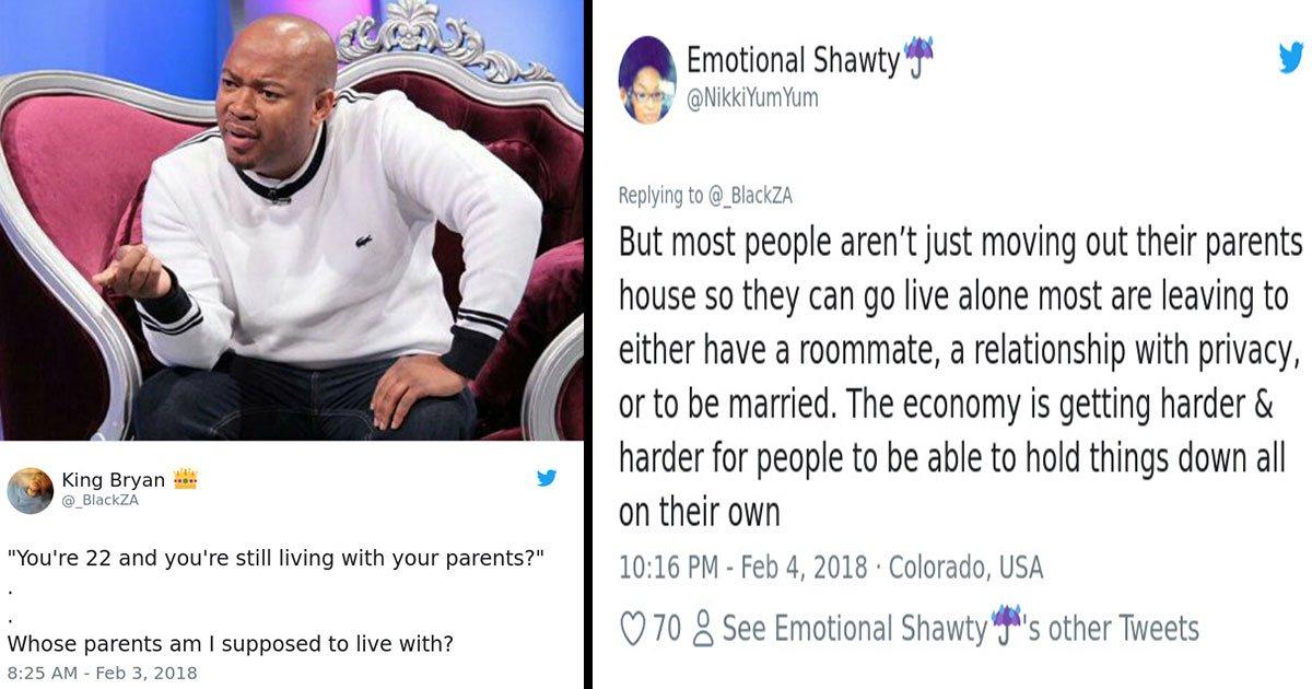 others had different opinions.jpg?resize=412,232 - Une nouvelle recherche révèle qu'un tiers des américains de la génération Y vivent avec leurs parents