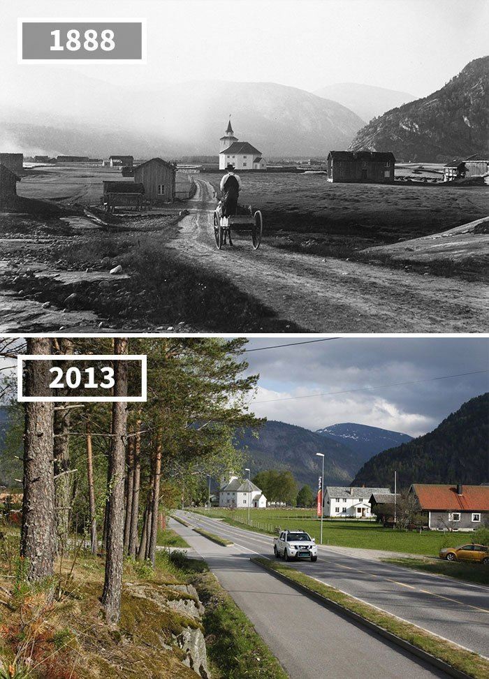 Rysstad, Norvège, 1888 - 2013