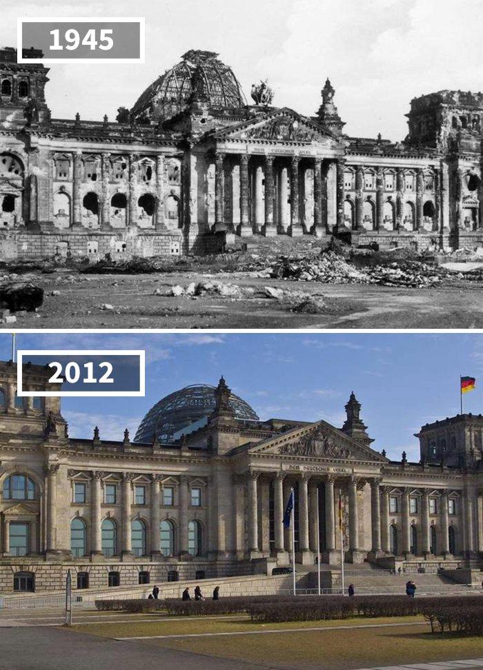 Reichstag, Allemagne, 1945 - 2012