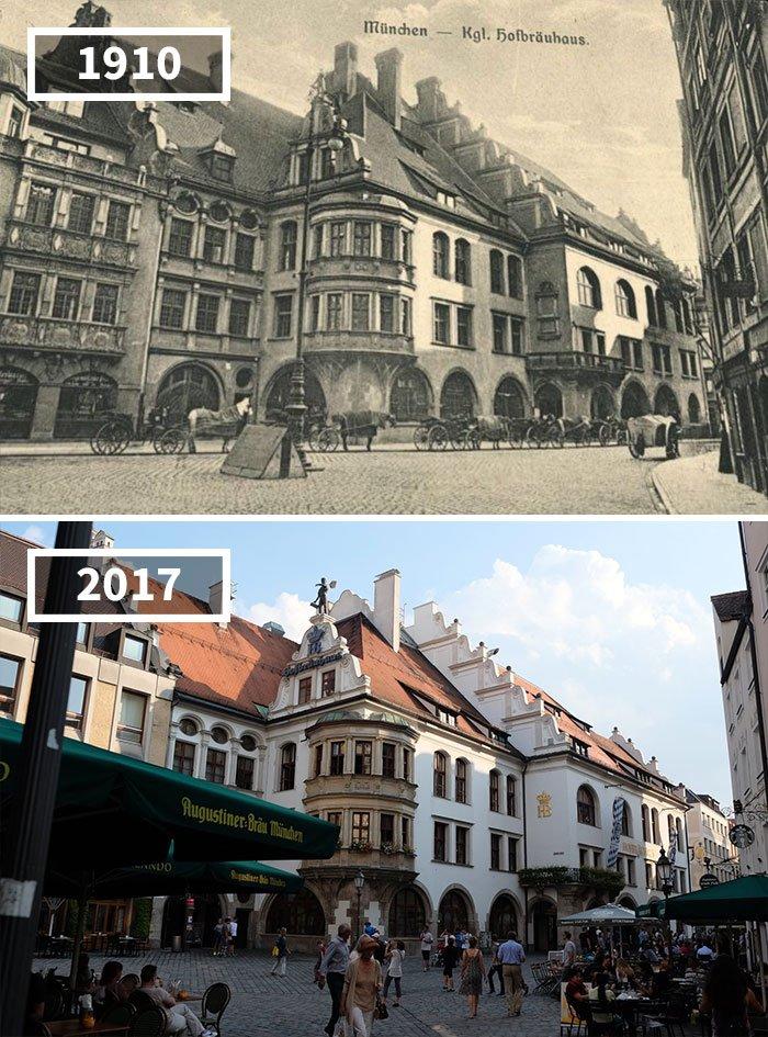 Hofbräuhaus München, Allemagne, 1910 - 2017