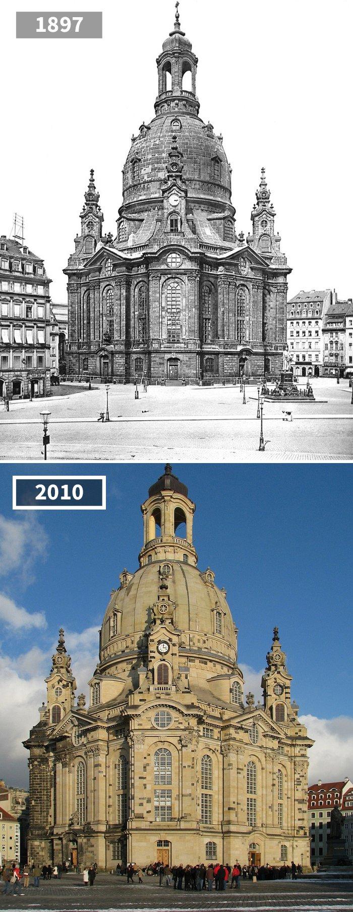 Église Notre-Dame de Dresde, Dresde, Allemagne, 1897 - 2010