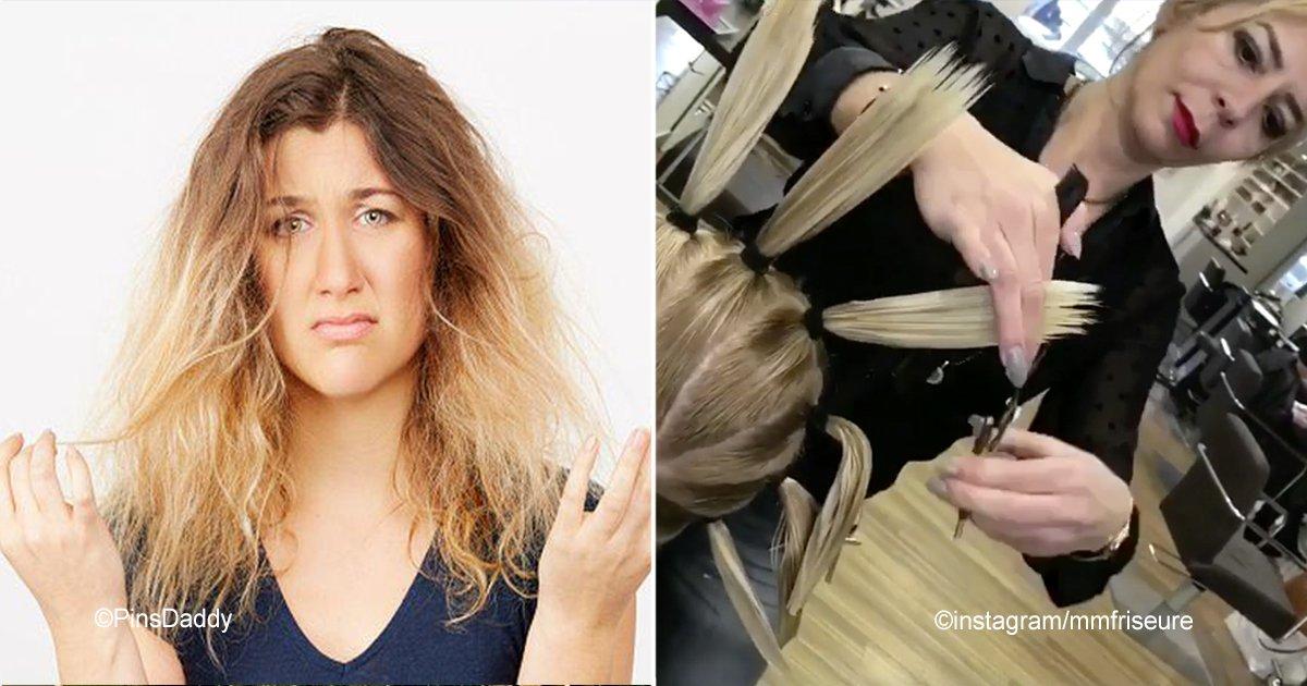 port 3.jpg?resize=300,169 - Se puede lograr un perfecto corte de cabello en capas únicamente haciendo 4 coletas, te sorprenderá esta técnica