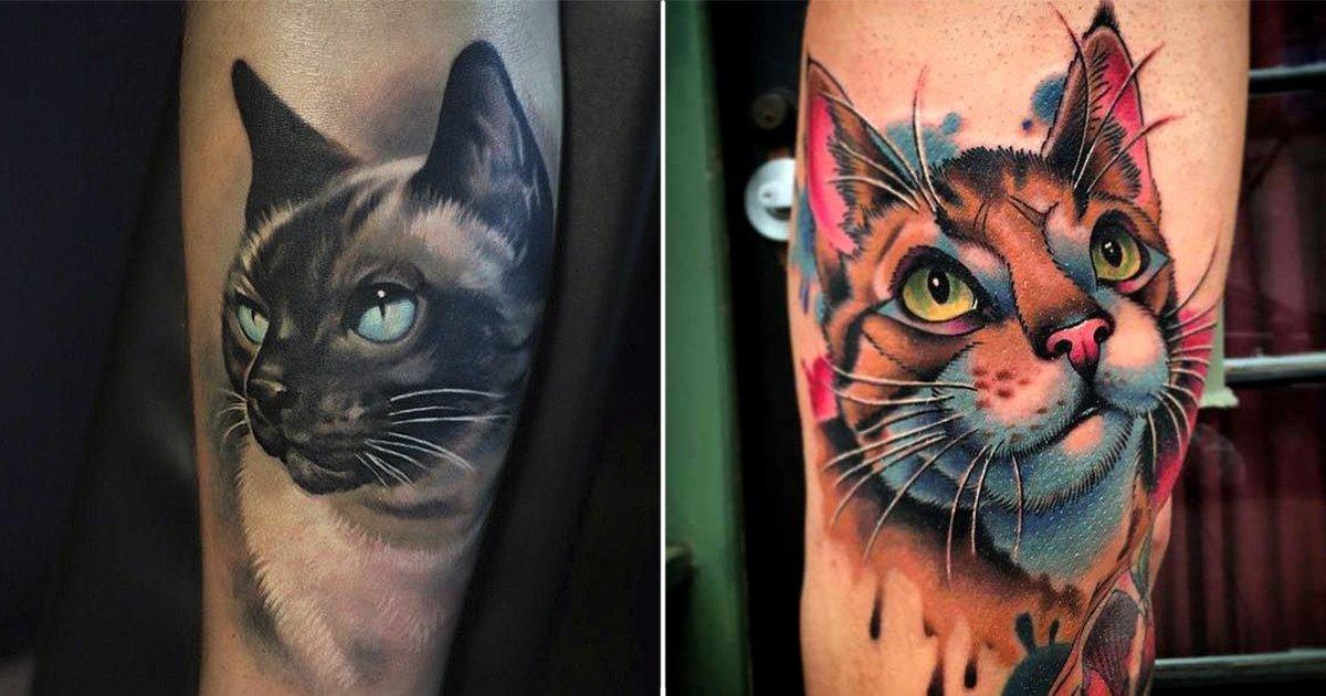 port.jpg?resize=1200,630 - 20+ Preciosos tatuajes de gatos ideales para los amantes de los felinos
