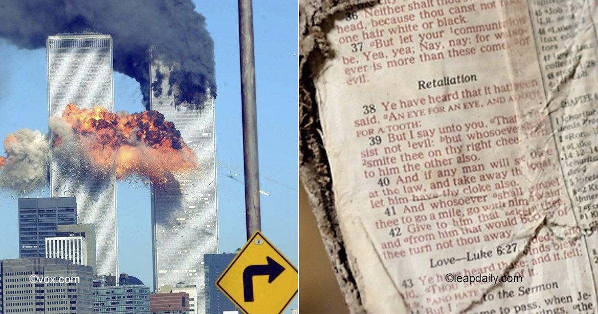 portadaarticulos.jpg?resize=412,232 - Milagroso hallazgo en las ruinas del 11-S: encuentran un mensaje para la humanidad en una página de la Biblia