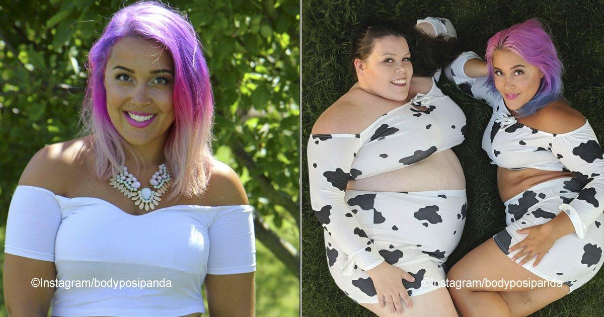 """posipanda.jpg?resize=300,169 - Debido a su  peso varios la llamaron """"vaca"""" y ella con humor los ridiculizó"""