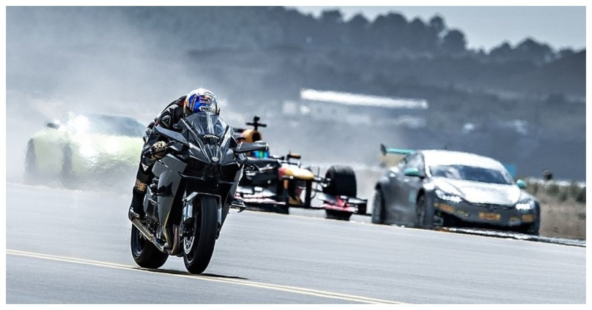race.jpg?resize=1200,630 - Dream Monster Race Pitted These Mean Machines Against Each Other, Including A Fighter Jet!