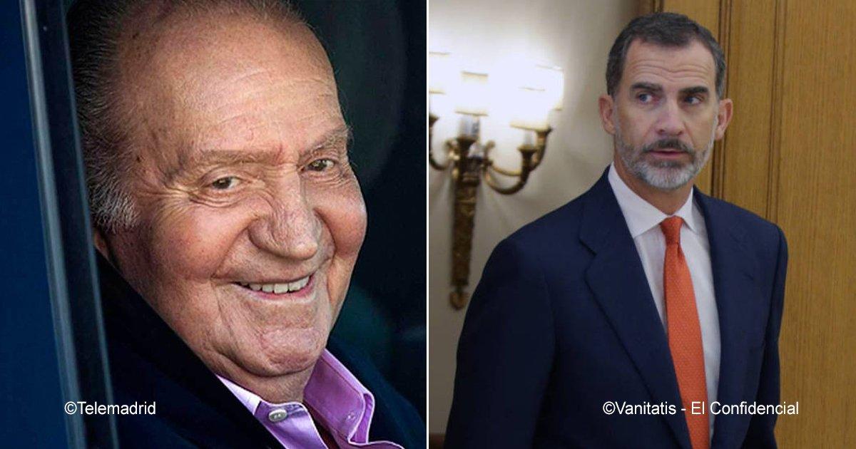 rey.jpg?resize=1200,630 - O trono do rei Felipe VI pode estar em risco se os filhos ilegítimos de seu pai Juan Carlos I aparecerem