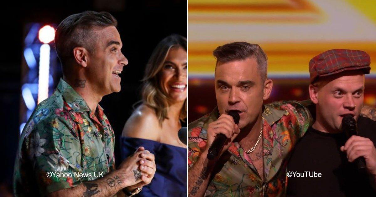 robbie.jpg?resize=412,232 - Robbie Williams subió a un fan al escenario para que cantara con él, fue un momento realmente emotivo