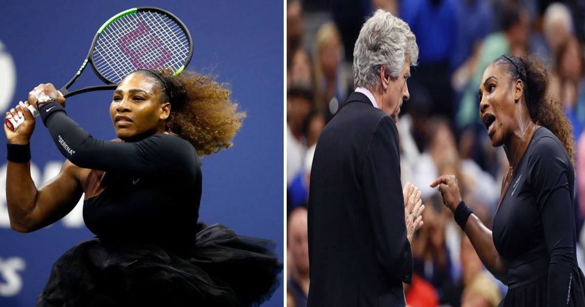 serena umpire us open.jpg?resize=636,358 - Serena Williams Accused Umpire Carlos Ramos Of Being A 'THIEF' Which Left The Internet Divided