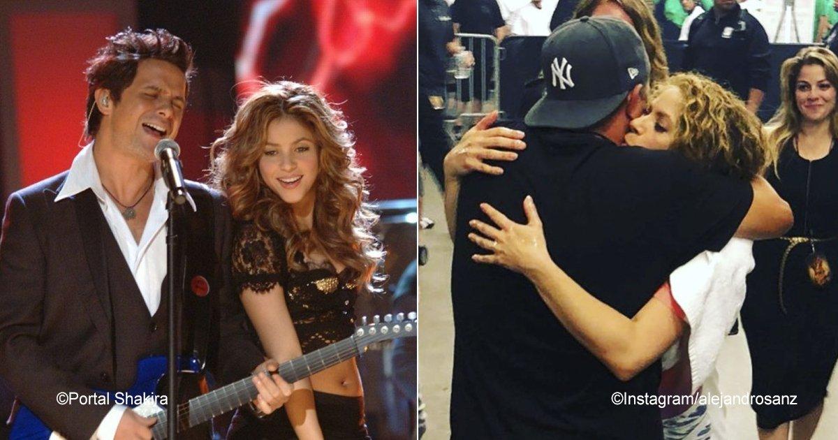 shakira.jpg?resize=1200,630 - Shakira e Alejandro Sanz surpreendem o público com sua linda amizade
