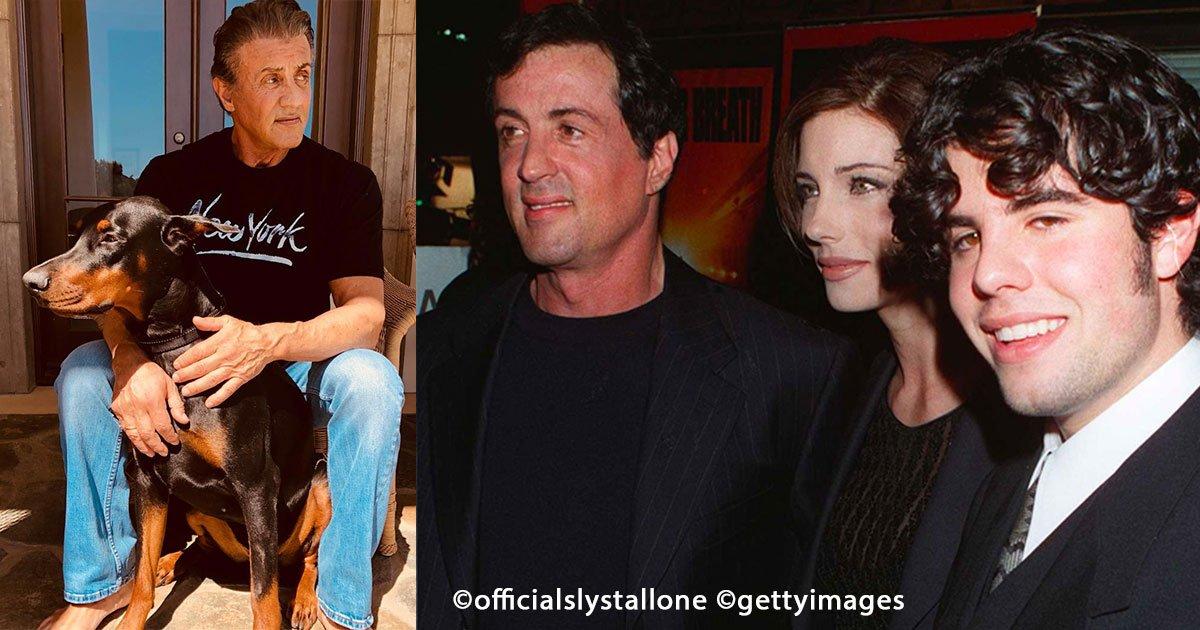 sin titulo 1 11.jpg?resize=412,232 - Sylvester Stallone: perdió un hijo y su hermana lo traicionó, conoce su desgarradora historia
