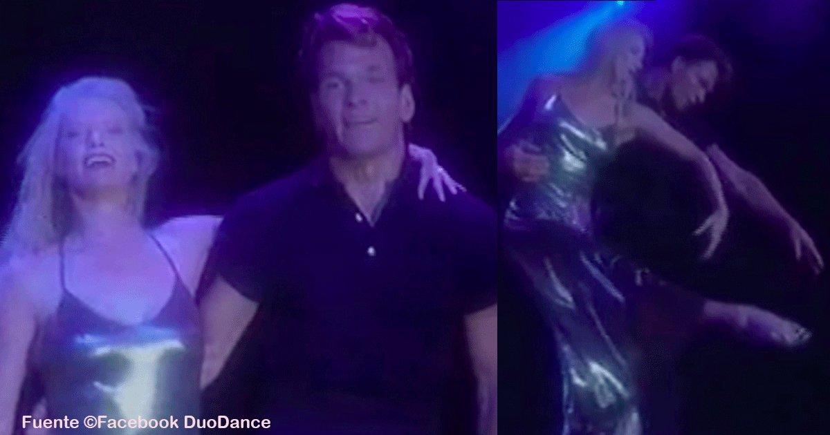 sin titulo 1 14.png?resize=300,169 - La increíble historia de amor de Patrick Swayze, el baile que realizó con su mujer fue inolvidable