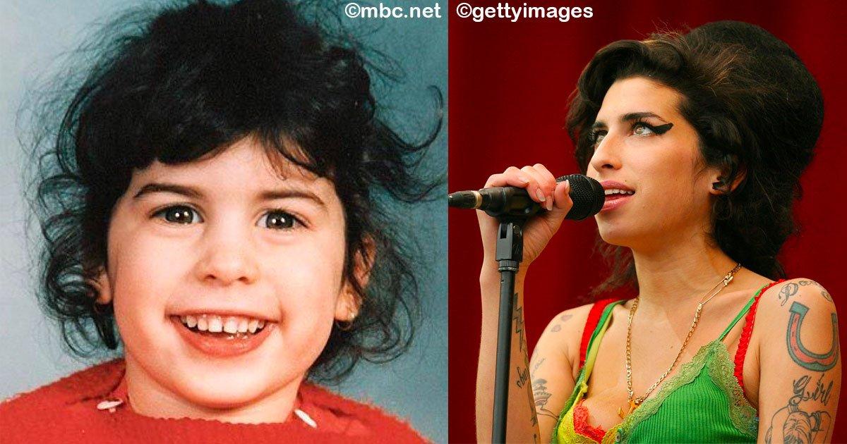 sin titulo 1 2.jpg?resize=300,169 - 13 fotografías de Amy Winehouse que muestran cómo de niña ya tenía esa chispa que la harían conquistar al mundo