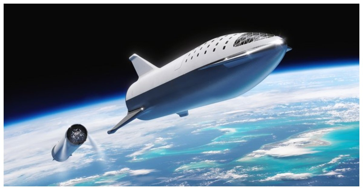 """spacex.jpg?resize=648,365 - """"Science Fiction"""" Spaceship That Will One Day Take People To Mars Is On The Way To Becoming Reality"""