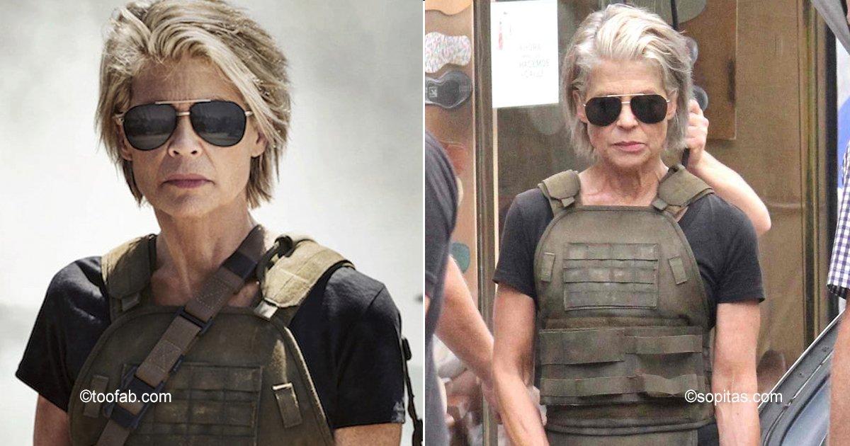 terminator.jpg?resize=300,169 - Vuelve a los 61 años Sarah Connor a Terminator, luciendo tan espectacular como hace 30 años