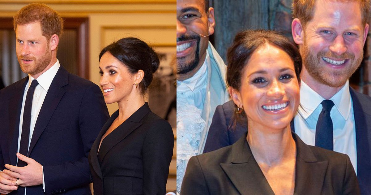 the duchess of sussex accidentally revealed prince harrys pet name and hip hop musical cast responded with a series of ahhs.jpg?resize=636,358 - Meghan Markle acidentalmente solta termo carinhoso com príncipe Harry