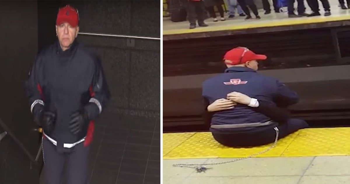 toronto transport commission jp worker save from suicide.jpg?resize=412,232 - A Train Worker Saved Six People From Suicide And Shares What One Man Told Him After Being Saved