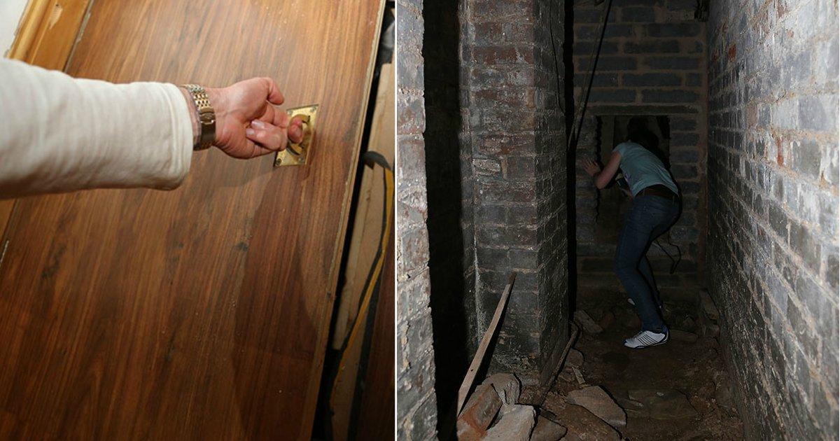 trap door.jpg?resize=412,232 - Il découvre un cachot secret dans le sous-terrain de l'appartement qu'il vient d'acheter